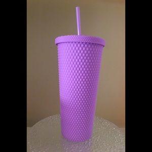 Purple Studded Tumbler *Not Starbucks But Similar